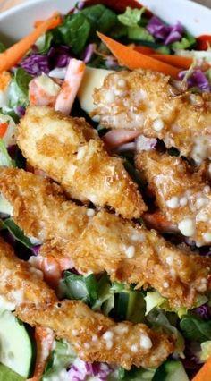 Applebee's Copycat Oriental Chicken Salad