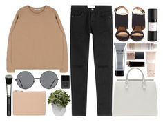 """""""Untitled #812"""" by rheeee ❤ liked on Polyvore featuring Current/Elliott, Stila, Forever 21, Nearly Natural, ZOEVA, Korres, ASOS, NARS Cosmetics, Carven and Rebecca Minkoff"""