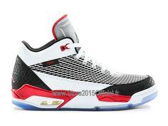 new style 0507f e8b4b Jordan Flight Club 80´s Nouveaux - Nike Air Jordan Officiel Sneakers Pas  Cher Pour Homme Blanc Rouge Noir 599583-103