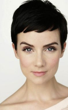 Cool and Charming Pixie Cut See more photos here -> Short Pixie Hairstyles for Women  Category => Short Pixie Haircuts