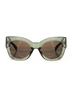 Eva Dark green sunglasses