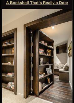 Bookshelf that is really a door