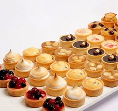 French Patisserie Petit Fours Tartlets (picture only, no recipe)