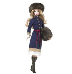 AmazonSmile: Barbie Dolls of The World Russia Barbie Doll: Toys & Games