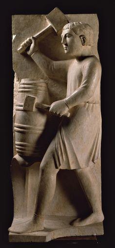 Battistero, Parma, Benedetto Antelami - Agosto - Ciclo dei Mesi, c. 1210-1215