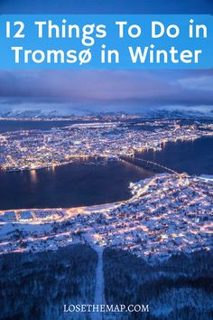 If you are exploring the Arctic Circle, check out the top 12 things to do in Tromsø, Norway in winter! From activities and museums to the best restaurants, this Tromsø travel guide has it all.