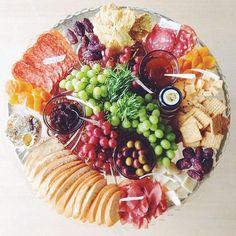 Beautiful cheese platter arrangement /sweetisthespice/