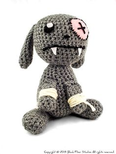 Vampire bunny!