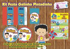 Kit Festa Galinha Pintadinha Para Imprimir