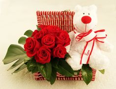 """Amor Cariñoso""  Ordena este arreglo contactándonos al (809) 588-3444 o ventas@florenzza.com."