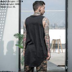 Cheap Aelfric Eden Men Summer Hip Hop Extend Long Tank Top Men s White Vest Fashion Swag. Click visit to read descriptions