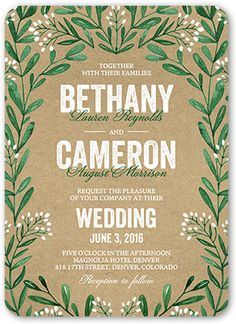 Exquisite Filigree 5x7 Wedding Card | Wedding Invitations | Shutterfly