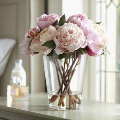 pink peonies // Spring Decorating Ideas: Shop my Favorites