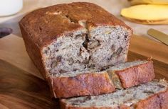 Banana Nut Bread (Bananenbrot - German recipe)