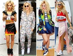 [She proves you can wear sneakers with practically anything. She really does! Here's Sneaker <3]