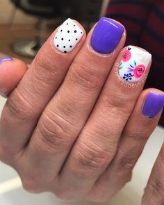 thanks for the cute inspo Cynthia boise boisenails nails nailart naildesign gelpolish gelmani gelnails Nail Polish, Shellac Nails, Diy Nails, Acrylic Nails, Fancy Nails, Cute Nails, Pretty Nails, Nail Swag, Diy Nail Designs