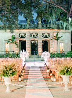 Vizcaya Museum and Gardens in Miami, Florida: http://www.stylemepretty.com/2015/04/27/30-amazing-wedding-venues/