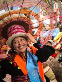 Virgin de la Candelaria celebrations in Puno, Peru - the costumes are intense!