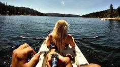 Smoking Spot: Kayaking