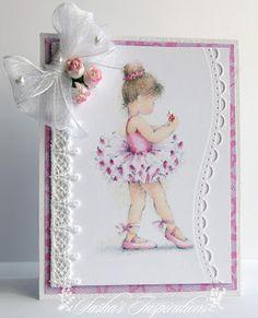 Sasha's Inspirations: Pretty Little Ribbon Shop May Challenge - Lace