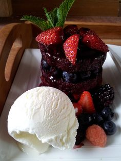 summer pudding, via Flickr.
