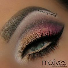 "Motives by Loren Ridinger  Who's ready for Market America World Conference 2014? We're so excited to see many Motives Beauty Advisors in just a couple of weeks that we have for you this gorgeous ""Miami"" look by Theamazingworldofj using Motives cosmetics to get you excited!!"