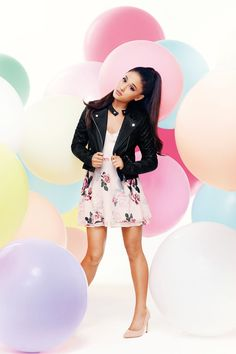 Popstar Ariana Grande has joined forces with UK fashion brand Lipsy, We have an exclusive sneak peek on the amazing collection here...