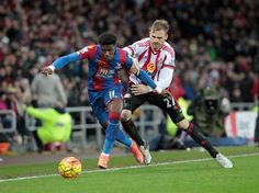 Pictures from the match Sunderland v Crystal Palace.