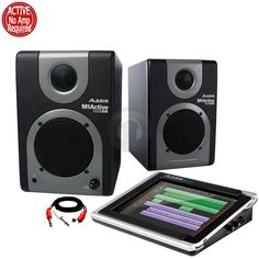 Alesis M1Active 320 USB Speakers Monitors Alesis iO Dock Pad Station Record from Electromarket.co.uk