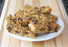 Pumpkin Chocolate Chip Granola Bars Recipe