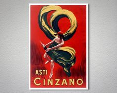 Check out this item in my Etsy shop https://www.etsy.com/listing/218175890/asti-cinzano-vintage-food-drink-poster