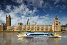 WITH striking Tube staff reducing the London Underground to a skeleton service tomorrow, many commuters will be tempted to make use of one of the oldest travel routes in the world - the River Thames. Rio Tamesis, Houses Of Parliament London, Duck Tour, Taylor Swift Fan, Travel Route, Tourist Trap, London Underground, River Thames, Big Ben