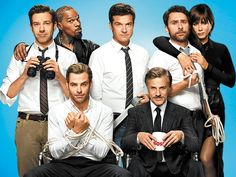 'Horrible Bosses 2' — It has been three years since disgruntled workers Nick (Jason Bateman), Dale (Charlie Day) and Kurt (Jason Sudeikis) continually botched plans to murder their higher-ups in Horrible Bosses. In Horrible Bosses 2, they're trying to strike out on their own legally — by inventing something called the Shower Buddy.