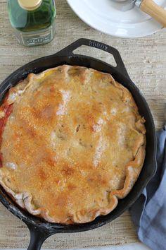 Pizza Pot Pie |  HipFoodieMom.com