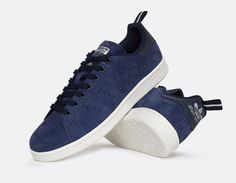 Adidas Originals Stan Smith Navy Suede S80027 - #StanSmith