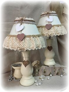 lampade country chic