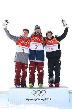 Freestyle Skiing Men's ski halfpipe. Gold - David Wise - USA, Silver - Alex Ferreira - USA, Bronze - Nico Porteous - New Zealand