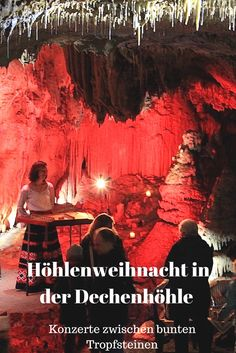 MYSTISCHE WEIHNACHTSWELT - Musiker aus aller Welt spielen in der Adventszeit in einer der schönsten begehbaren Tropfsteinhöhlen Europas.