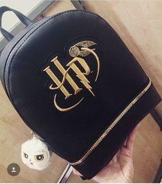 Primark Harry Potter Hedwig Owl Black Rucksack Backpack Ladies Girls Bag Gifts | eBay