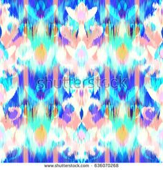 Abstract ethnic ikat pattern background Traditional pattern on the fabric in Indonesia and other Asian countries
