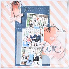 scrapbooking with mist or ink by Jamie Pate @ shimelle.com