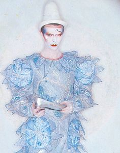 David Bowie~with silver slipper