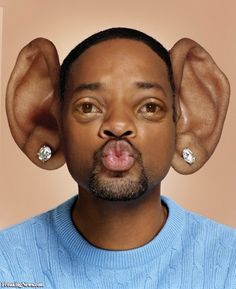 Will Smith with Big Ears