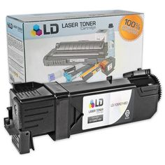 Compatible Xerox 106R01480 Black Laser Toner Cartridge for the Phaser 6140: Save money with our Xerox Phaser 6140 compatible black…