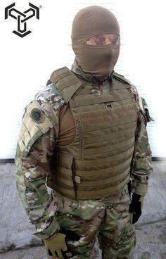 SPECOPS - ZMKT-2 integrated Quick Release vest