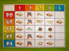 Výsledek obrázku pro výukové karty 1.třída Primary Teaching, Op Art, Activities For Kids, Calendar, Classroom, Album, Education, Holiday Decor, School