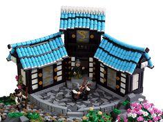 Samurai training Legos