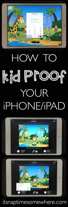 Ever wonder how to kid proof your iPhone or iPad? Here is the complete tutorial!