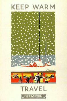Vintage Underground Poster