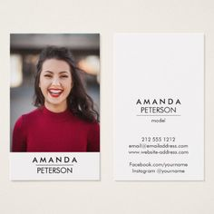 299 best actor actress business cards images on pinterest in 2018